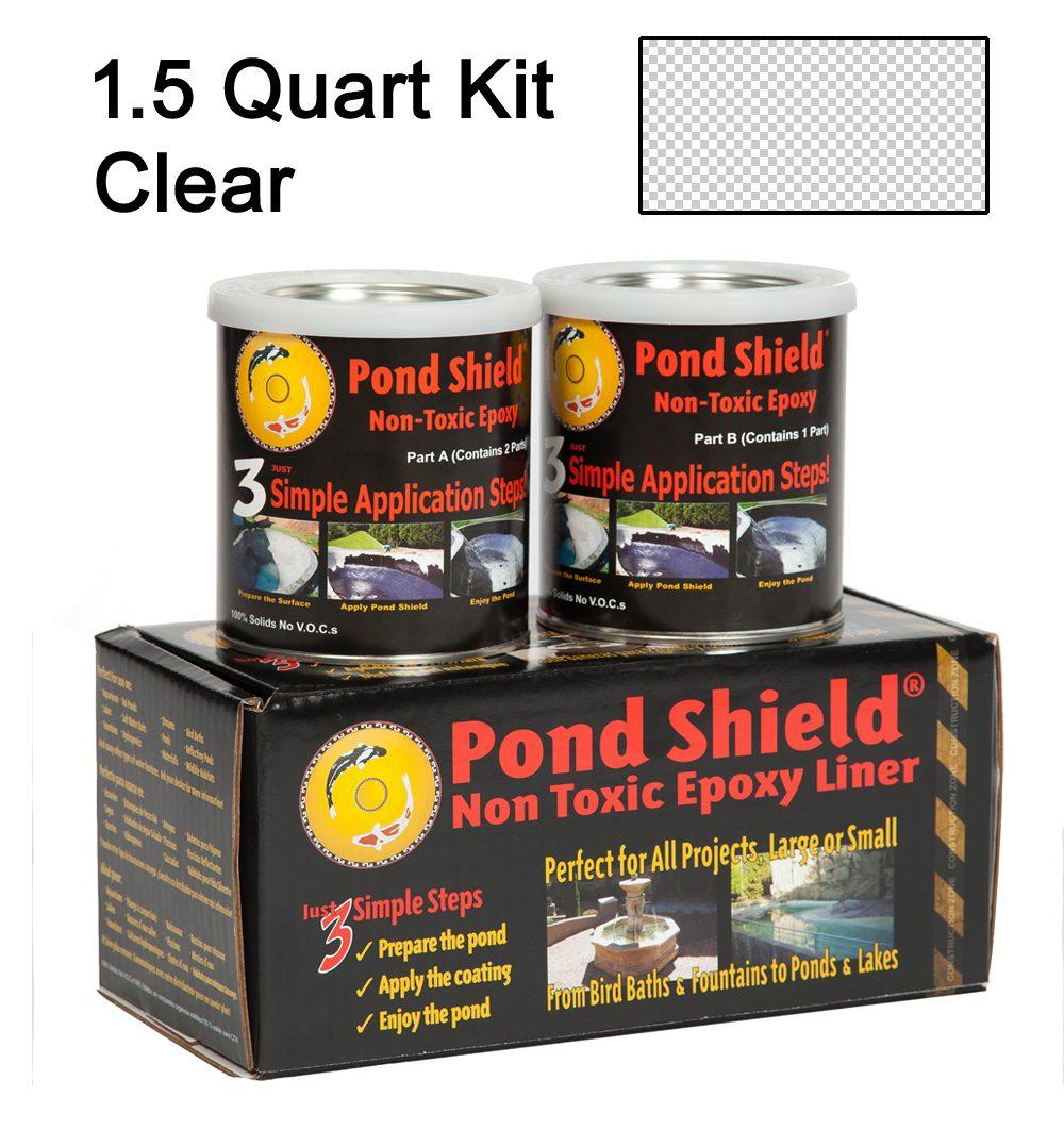Pond Shield Epoxy Clear 1 5 Quart Kit